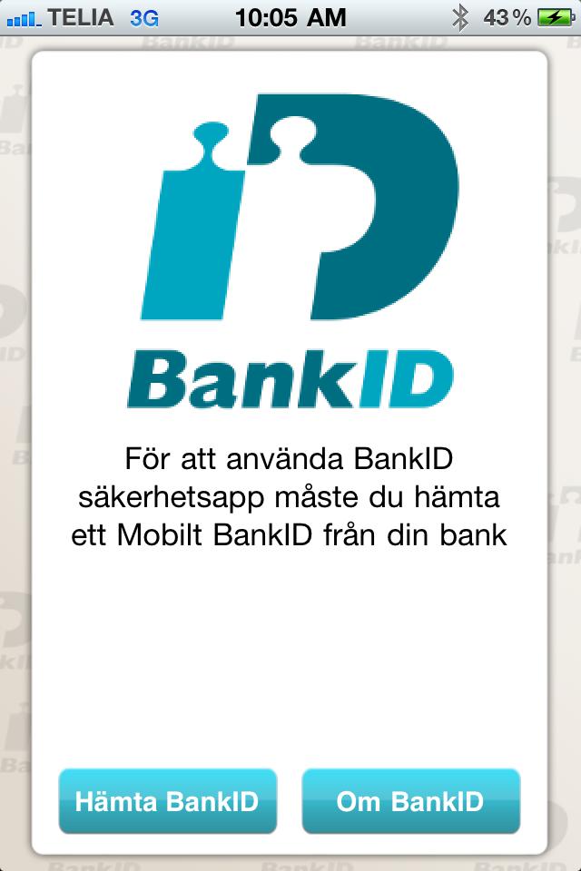 hämta mobilt bankid skandiabanken