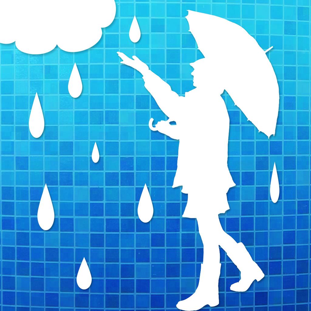 雨かしら?[お天気地図]